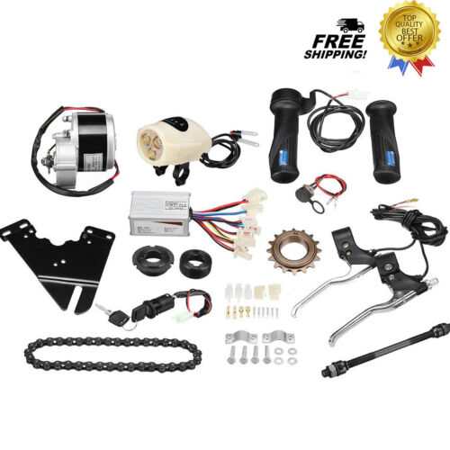 "Electric Bike Conversion Scooter Motor Controller Kit for 22-28/"" Ordinary Bike"