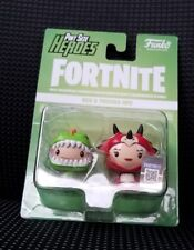 Funko Pint Size Heroes Fortnite Rex /& Tricera Ops 2-Pack