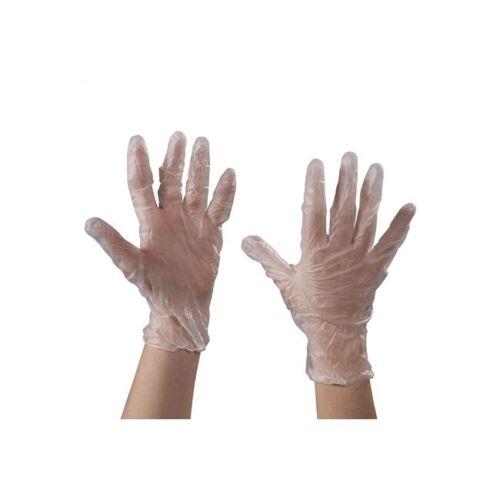 "Powdered Clear 3 Mil Xlarge /""Vinyl Gloves 100//Case/"""