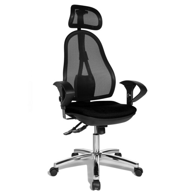 Bürostuhl Schreibtischstuhl Drehstuhl Topstar Open Point SY schwarz B-Ware