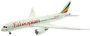 Vols en vol 200 If78781216 1/200 Ethiopian Airlines Boeing 787-8 et Asi avec support