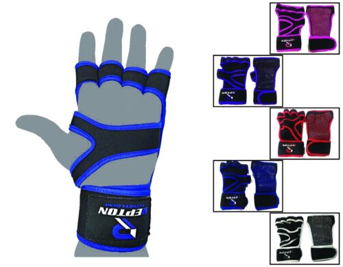 Neoprene Essential Weight Lifting Gloves Training Fitness Exercise Gym Workout