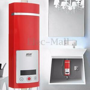 Image Is Loading 5500W Instant Electric Tankless Water Heater Shower System