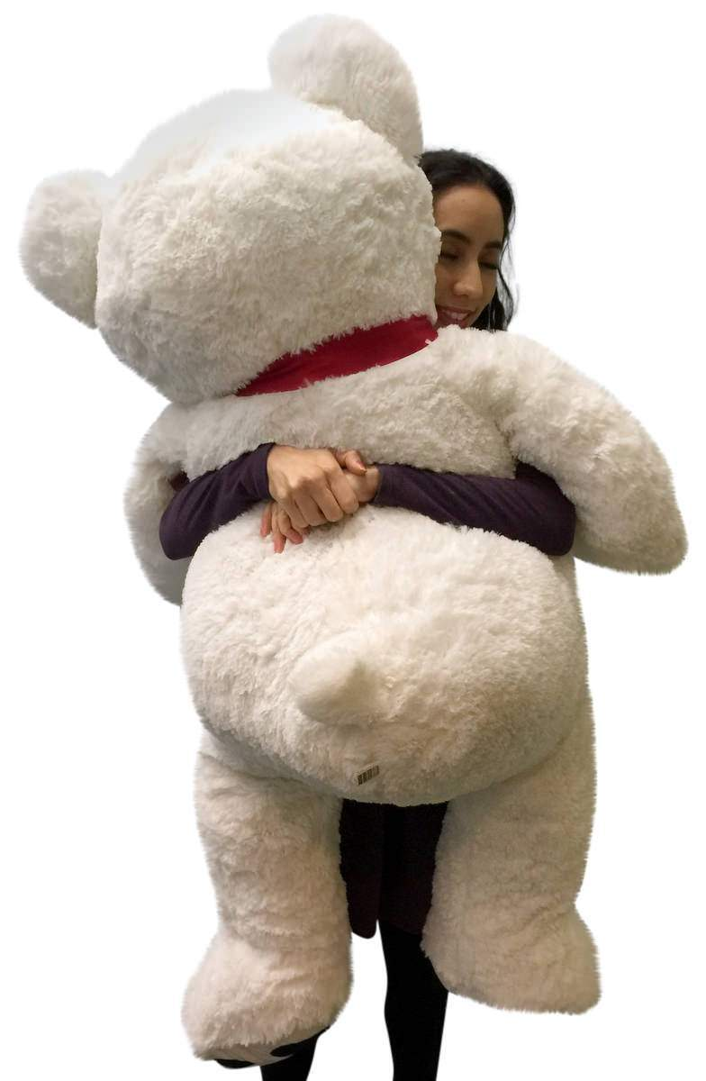 Giant Teddy Bear 52 Inch Weighs Weiß Soft, Premium Quality Big Plush, Weighs Inch 12 Pounds 56c0bc