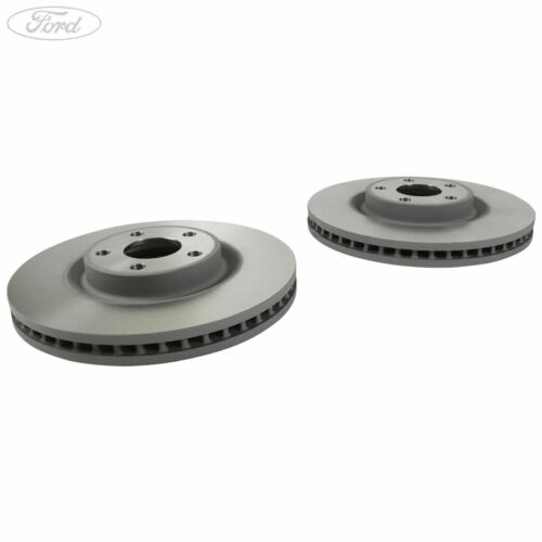 Genuine Ford S-Max Galaxy Edge Front Vented Brake Discs Pair Set 316mm 2019816