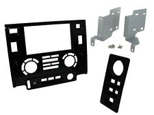 Land Rover Defender 90 / 110 PUMA - Double Din Dash Head Unit Facia Panel Kit