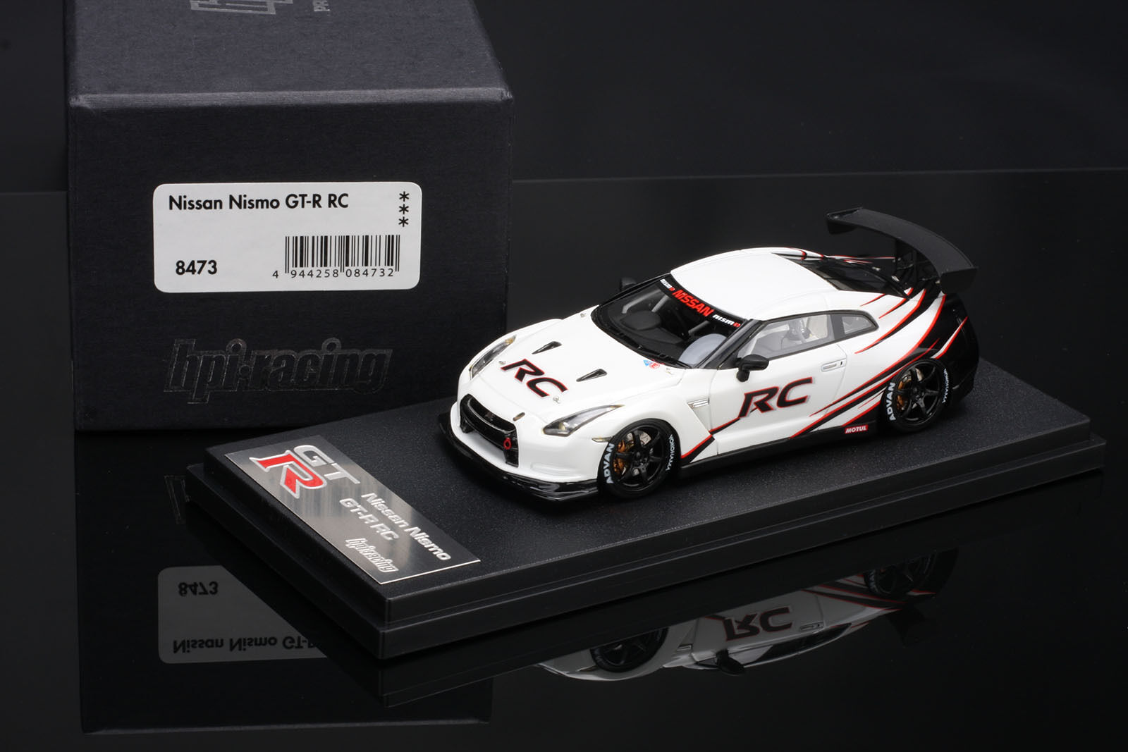 Nismo R35 GT-R  Racing Competition  JDM edición -- Resina De Hpi  43