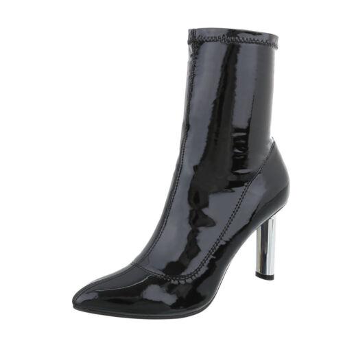 High Heels Boots Damenschuhe 5372 Ital-design
