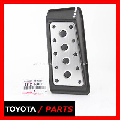 GENUINE LEXUS 06-15 IS250 IS350 IS F OEM NEW FRONT FOOT REST PEDAL 58192-53061
