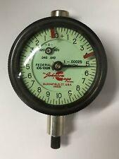 Federal Johnson Gage Co Ids 10028 Dial Indicator 0 040 Range 00025