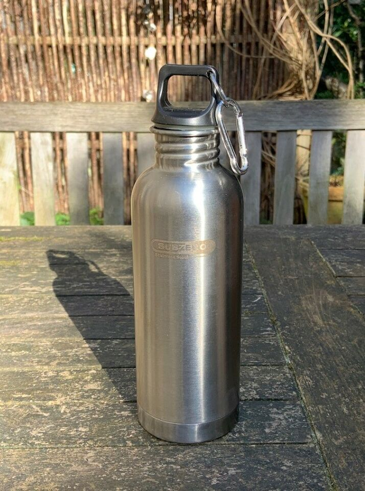 Rustfrit stål, Vandflaske, Subzero