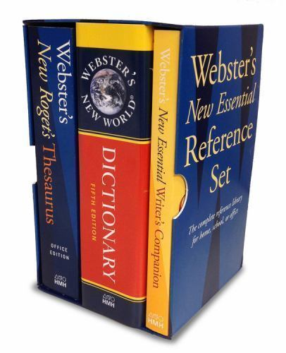 Webster's New Essential Reference Set by Webster's New World College Dictionari