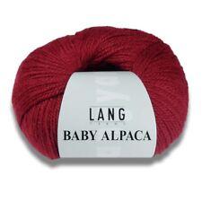 Lang Yarns Baby Alpaca Pink Dark 19