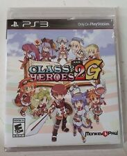 Class of Heroes 2G (Sony PlayStation 3, 2014) for sale