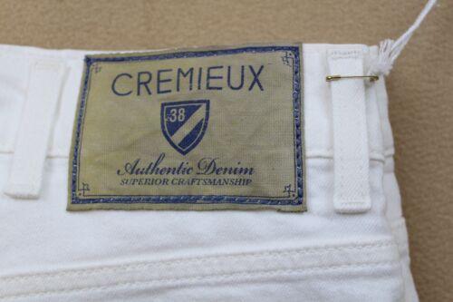 CREMIEUX JEANS MENS STRAIGHT FIT AUTHENTIC DENIM WHITE COLOR SIZE 40X30  NWT
