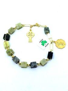 Irish-Connemara-Marble-Rosary-Bracelet-Hand-Made-in-Ireland