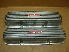 1960s WEIAND #WFM-542-B ALUMINUM VALVE COVERS FORD FE 428 427 390 HOLMAN MOODY