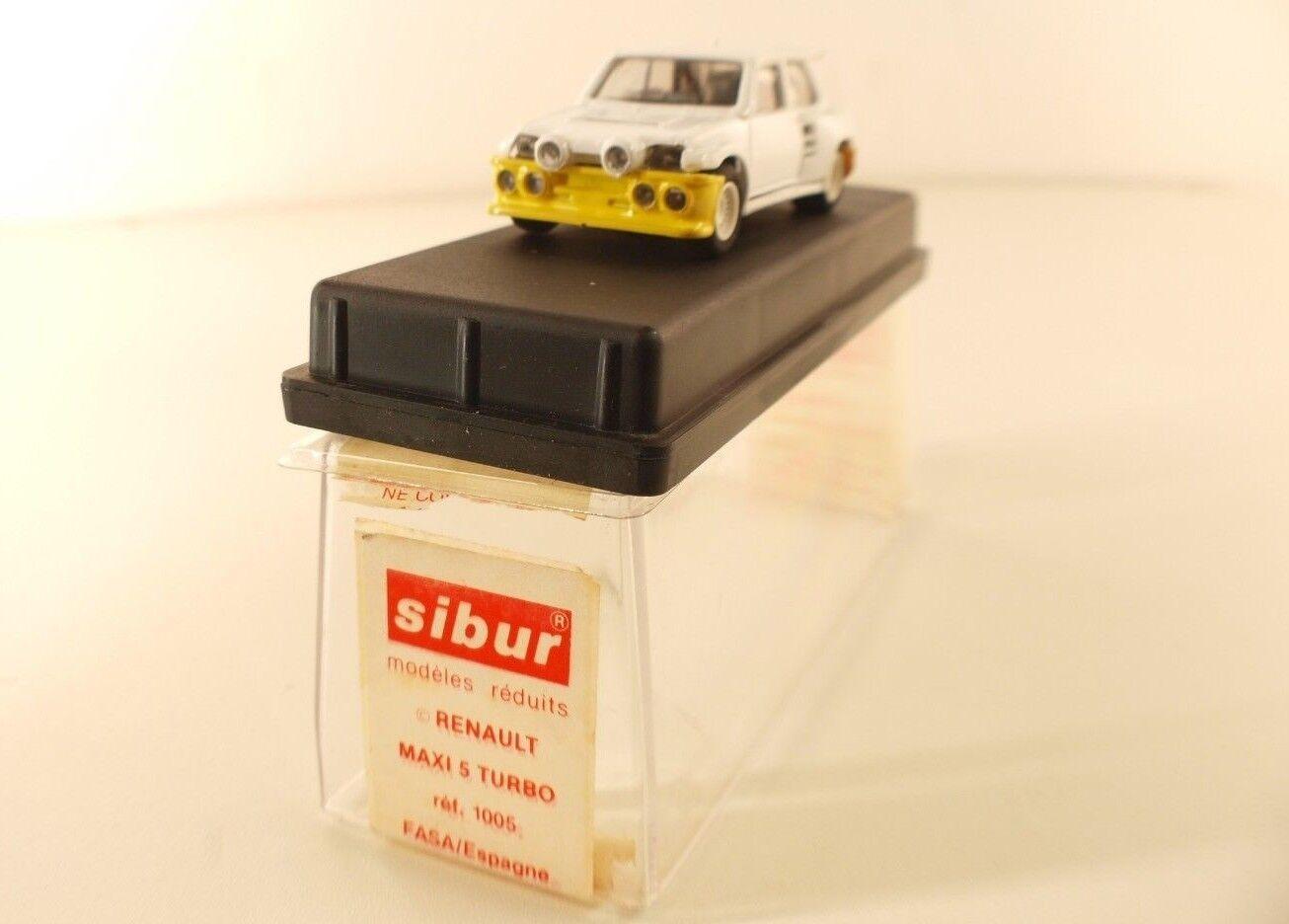 Sibur n.1005 renault Maxi 5 turbo Costa Brava 1986 New in Box 1 43 MIB