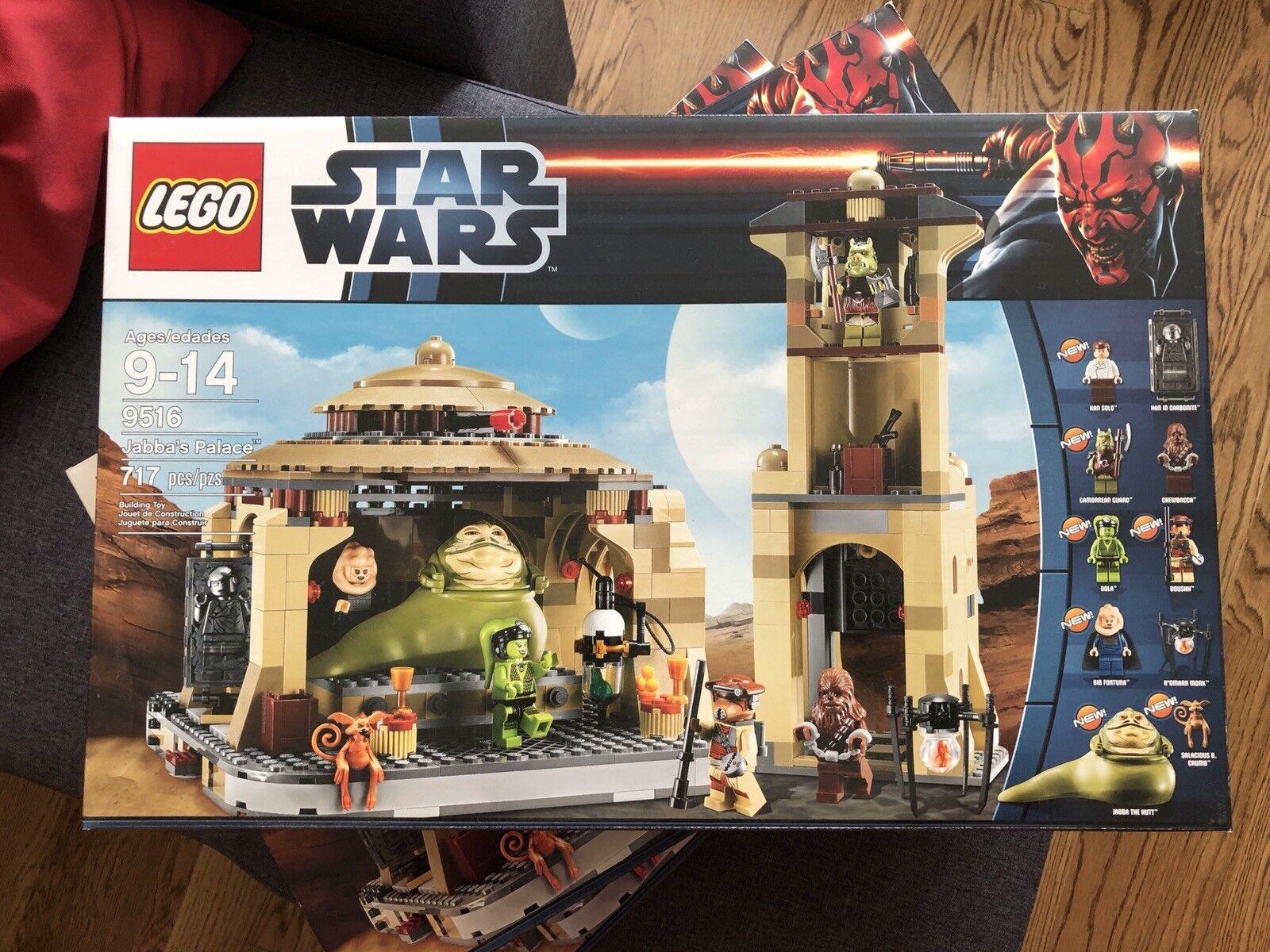 Lego Star Wars 9516 Jabba's Palace Jabba Jabbas retirado