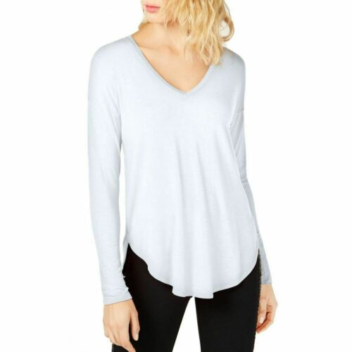 INC NEW Women/'s V-neck Curved-hem Casual Shirt Top TEDO