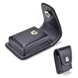 Black-Windproof-Cigarette-Lighter-Pouch-Case-Holder-With-Belt-Loop-Waist-BagsGVU
