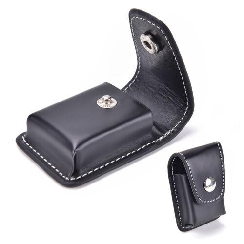 Schwarz Winddicht Zigarettenanzünder Pouch Case Box Halter+Gürtelschlaufe TailXJ