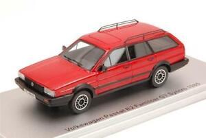 Vw Passat B2 Familcar Gt Syncro 1985 Red Ed.Lim.Pcs 250 1:43 Kess Model KS430280