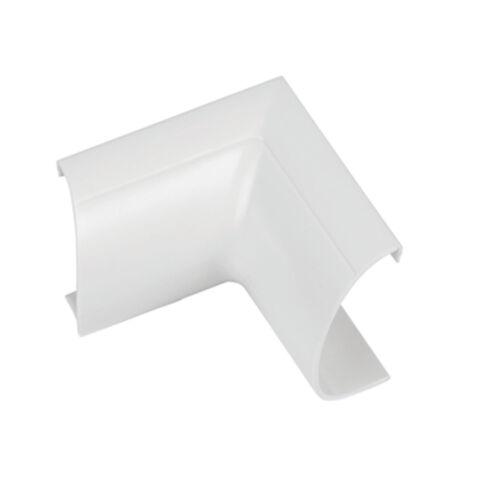adhésif soutenu Pour Câble Tube 50 mm x 25 mm Blanc Rond D Trunking /& Adaptateurs