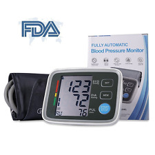 Automatic Upper Arm High /Low Blood Pressure Digital Monitor FDA Approved Cuff