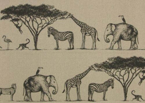NEW Art of the Loom /'Serengeti/' range /'Exodus/' 100/% Linen Fabric.