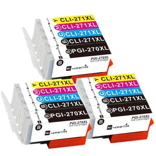 1 2 3 4 5 6 Set PGI-270XL CLI-271XL Ink Lot for Canon PIXMA TS8020 MG5722 MG7720