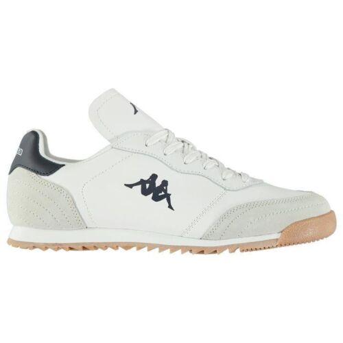 Homme de Marque KAPPA LOGO empiècements Upper plus dense DLX Baskets Chaussures Taille 7-11