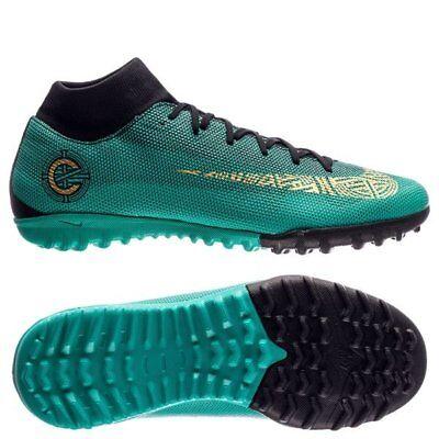 minorista online 539f5 48f53 Nike Mercurial CR7 Ronaldo SuperflyX VI TF Turf 2018 DF DynFit Soccer Shoes  Teal | eBay
