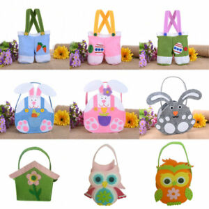 Easter egg basket bag for kids bunny bags carry eggs candy gifts image is loading easter egg basket bag for kids bunny bags negle Image collections