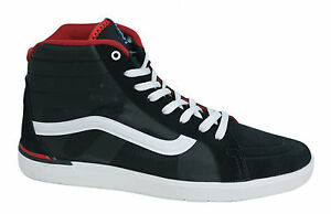 Up Parameter Lace Negro Hombre The Vans Off Ua2458 Tops Mid D85 Rojo Wall gtn0tBqH
