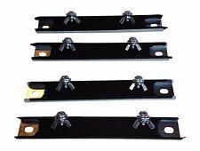Four 4 Magnetic License Plate Holders Magnet Tag Plate Test Drive Dealer