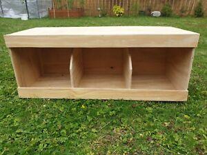 "Chicken nest boxes - Triple 31"" x 12"" x 13"" Coop Nest box Chickens / Hens"