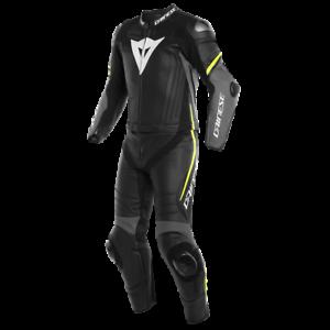 Dainese-Laguna-Seca-4-2pcs-Suit-Fb-sw-grau-gelb-Gr-52-UVP-1149-95