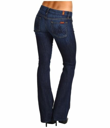 Ny 26 28 Dark Jeans 23 For Mankind Bootcut Nwt Nouveau En All Pocket 7 Flare Leg OYqXZ
