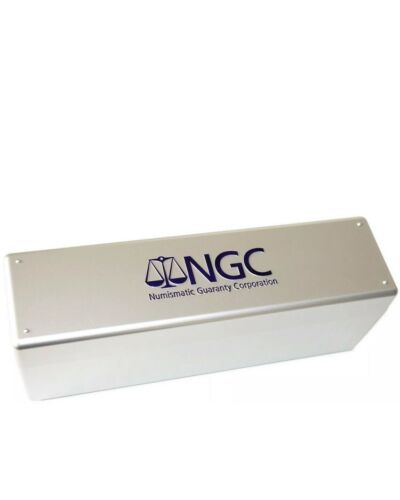 NGC 20 Coin Storage Box New