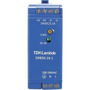 Tdk-lambda-drb-50-24-1-alimentatore-per-guida-din-24-v-dc-2-1-a-50-4-w-1-x