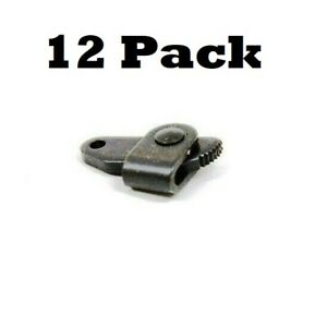 12 Pack Bridger Sure Hold Cam Lock w// Teeth 3//32 Trapping Supplies