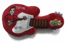 Wiggles Plush Guitar Murray Toy Pretend Play Red Stuffed Soft Toddler