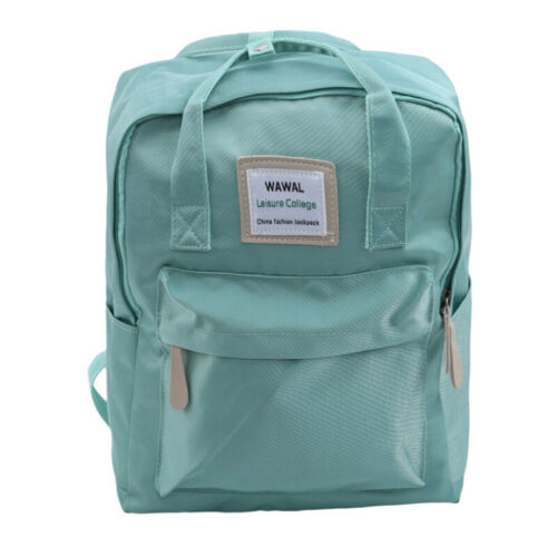 Canvas Student School Bags For Teenage Girls Fashion Backpack Female Cute ONE