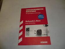 Vergleichsarbeiten Mathematik  Realschule 6. Klasse Baden-Württemberg