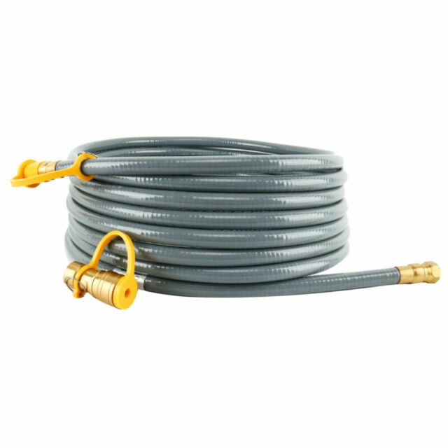 DOZYANT 3//8 Inch Natural Gas Quick Connect Fittings,LP Gas Propane Hose New