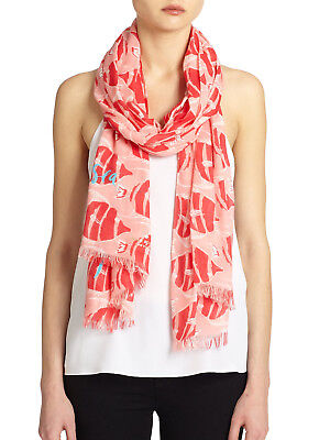 Kate Spade New York Striped Fish Scarf  $128
