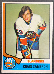 1974-75-O-Pee-Chee-Hockey-263-Craig-Cameron-New-York-Islanders
