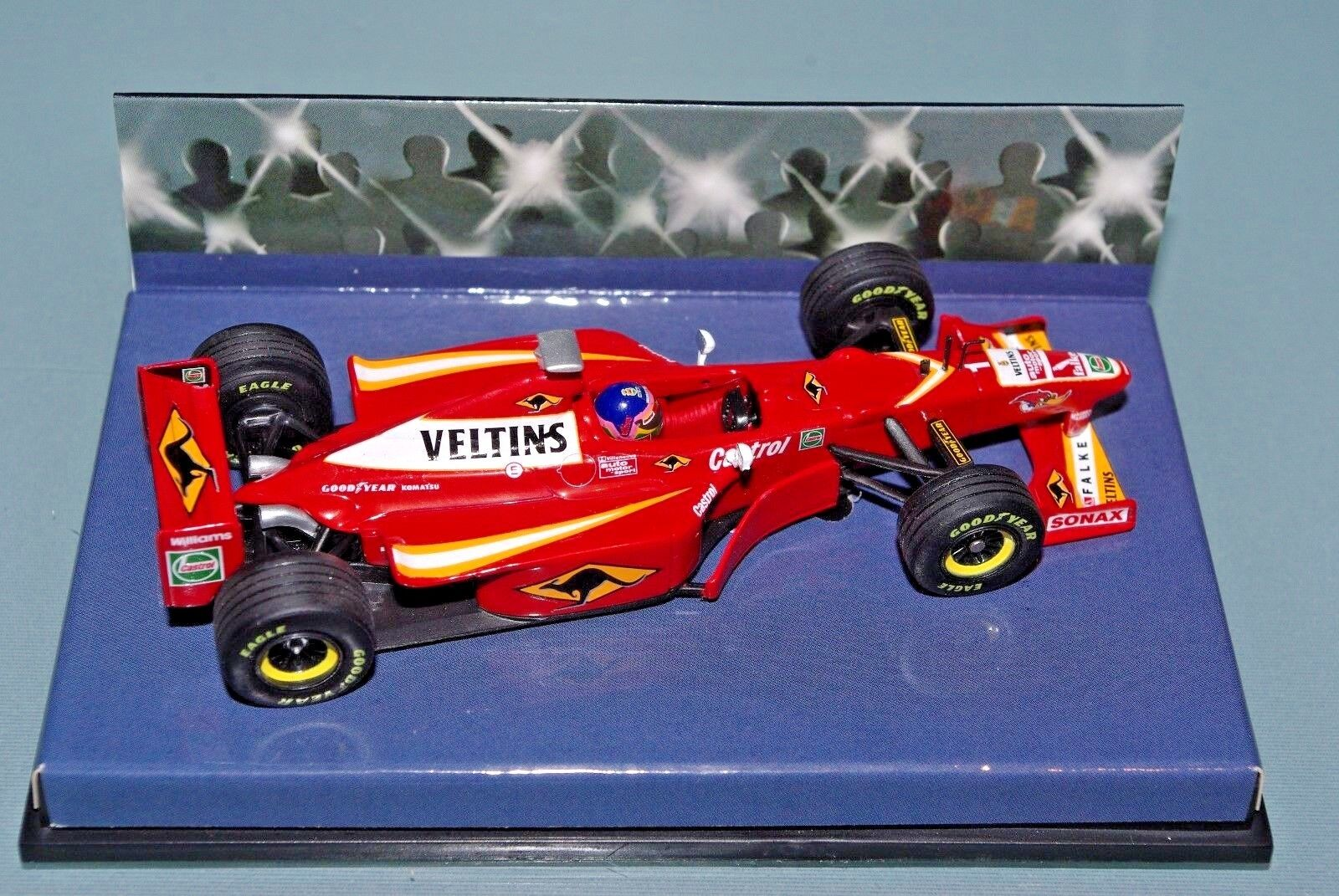 Minichamps F1 1 43 Williams Mecachrome FW20 Villeneuve  1 - PAPARAZZI Edition