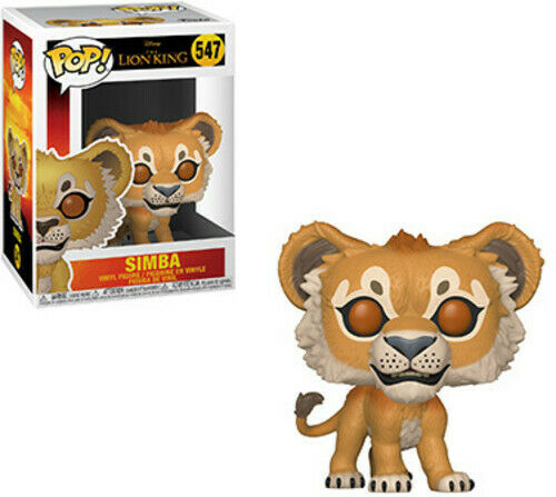 The Lion King (Live Action) - Simba - Funko Pop! Disney: (2019, Toy NUEVO)